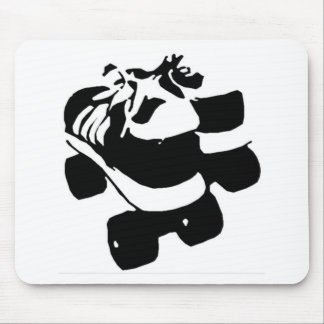 Retro Rollerboots Mouse Pad