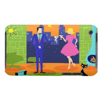 Retro Romantic Evening Couple iPod Touch Case