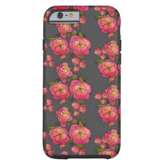 Retro Roses Tough iPhone 6 Case