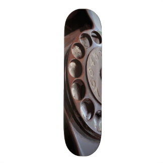 Retro Rotary Dial Phone Vintage Design Skateboards