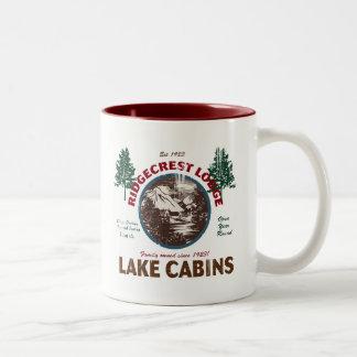 Retro Rustic Cabin Decor Mug