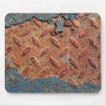 Retro Rusty Street Grunge Texture Pattern Mousepads