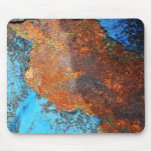 Retro Rusty Street Grunge Texture Pattern Mouse Pads