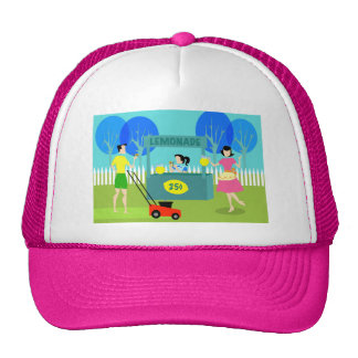 Retro s Lemonade Stand Trucker Hat