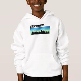 Retro Sacramento Skyline