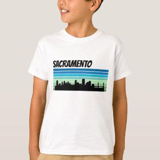 Retro Sacramento Skyline T-Shirt