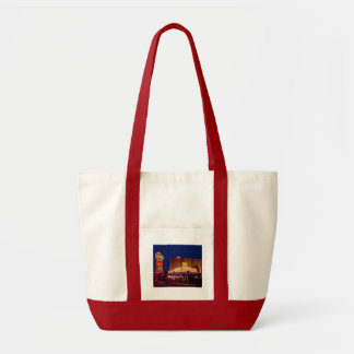 Retro Sahara Hotel Las Vegas Canvas Bags