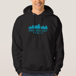 Retro Salt Lake City Skyline Hoodie