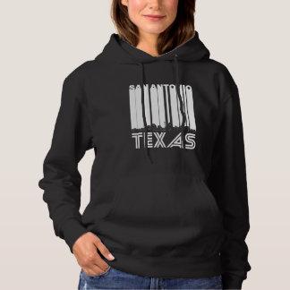Retro San Antonio Texas Skyline Hoodie
