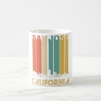 Retro San Jose California Skyline Coffee Mug