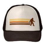 Retro Sasquatch Design Mesh Trucker Hat