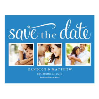 RETRO | SAVE THE DATE ANNOUNCEMENT POSTCARD