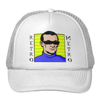 Retro Sci Fi Guy Trucker Hat