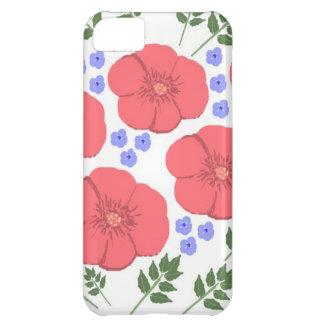 Retro Seventies floral design iPhone 5C Case