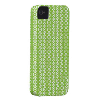 Retro Shape Green iPhone 4 Case-Mate Cases