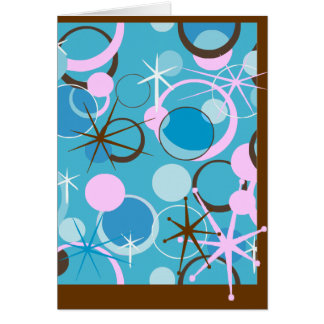 Retro Shapes Card
