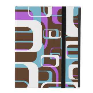 retro shapes ipad case