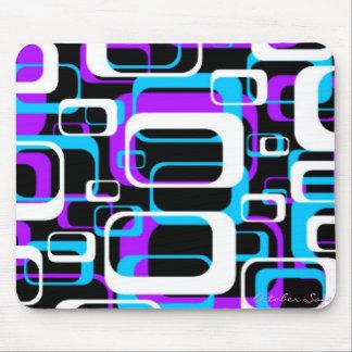 Retro Shapes Pattern Mousepad