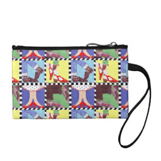 Retro Shoes Clutch Bag! Change Purse