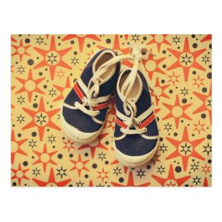 Retro Shoes postcard