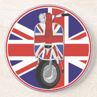 Retro Sixties Scooter with UJ decal Coasters