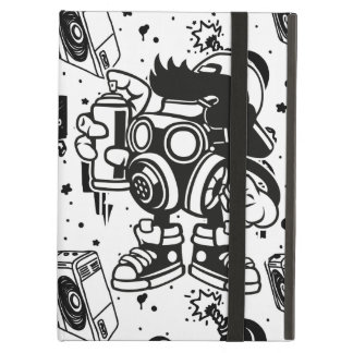 Retro 'Skater' Graffiti Art iPad Air Case