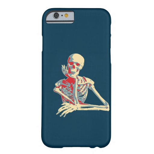 Retro Skeleton Barely There iPhone 6 Case