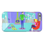 Retro Ski Vacation iPhone 6 Case Barely There iPhone 6 Case