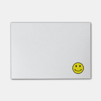 Retro Smiley Face Yellow Smile Post-it® Notes