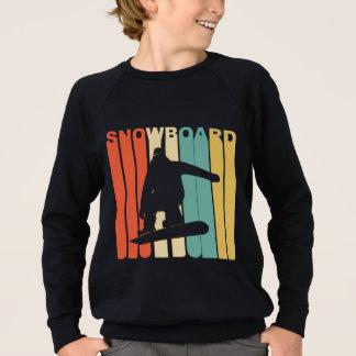 Retro Snowboard Sweatshirt