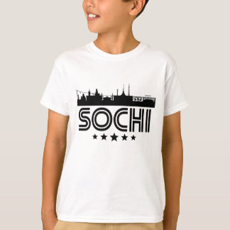 Retro Sochi Skyline T-Shirt