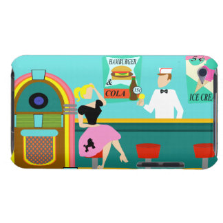 Retro Soda Fountain iPod Touch Case