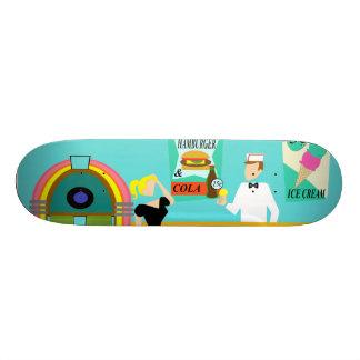 Retro Soda Fountain Skateboard
