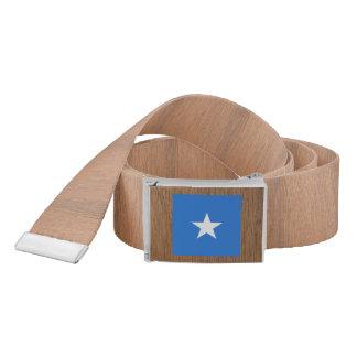 Retro Somalia Flag Belt