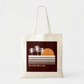 Retro South Beach Canvas Bag