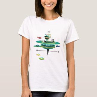 Retro Space Diner T-Shirt