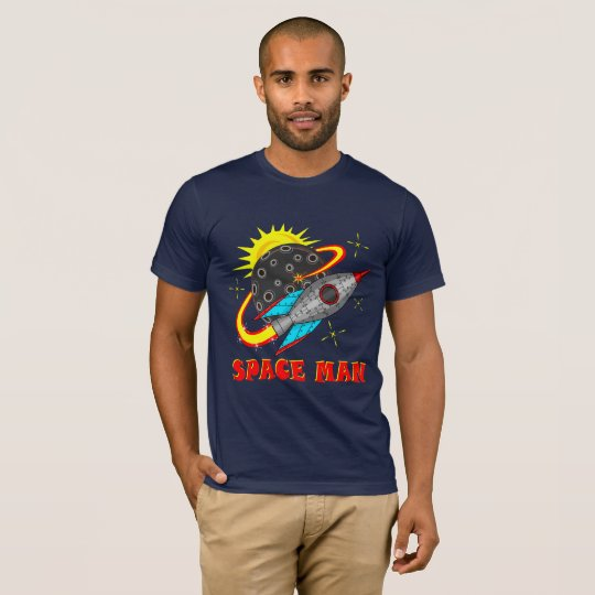 Retro Spaceman T-Shirt