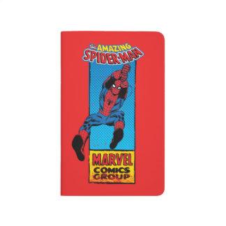 Retro Spider-Man Comic Graphic Journal