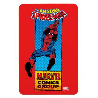 Retro Spider-Man Comic Graphic Magnet
