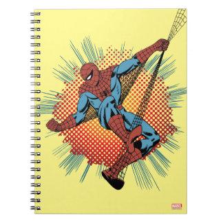 Retro Spider-Man Spidey Senses Notebook