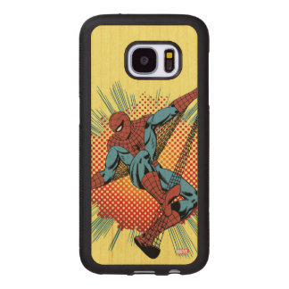 Retro Spider-Man Spidey Senses Wood Samsung Galaxy S7 Case