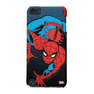 Retro Spider-Man Wall Crawl iPod Touch (5th Generation) Cases