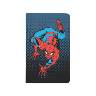 Retro Spider-Man Wall Crawl Journal