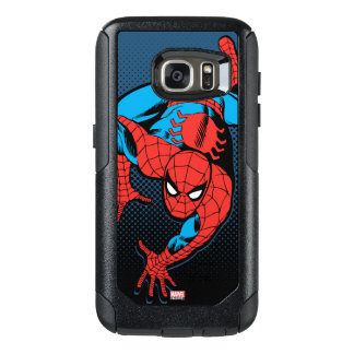 Retro Spider-Man Wall Crawl OtterBox Samsung Galaxy S7 Case