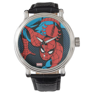 Retro Spider-Man Wall Crawl Watch