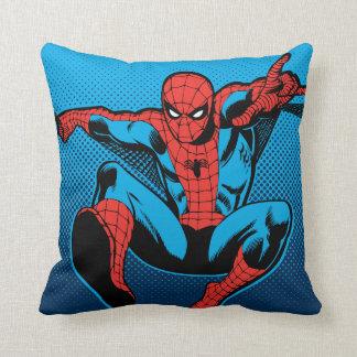 Retro Spider-Man Web Shooting Cushion