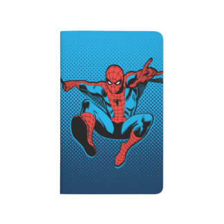 Retro Spider-Man Web Shooting Journal
