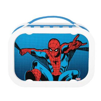 Retro Spider-Man Web Shooting Lunchbox