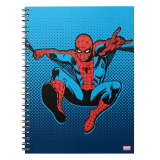 Retro Spider-Man Web Shooting Notebook