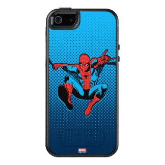 Retro Spider-Man Web Shooting OtterBox iPhone 5/5s/SE Case